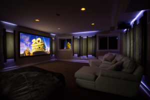 home theater entertainment center palm springs