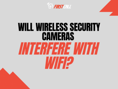 Will wireless security cameras interfere with WIFI?